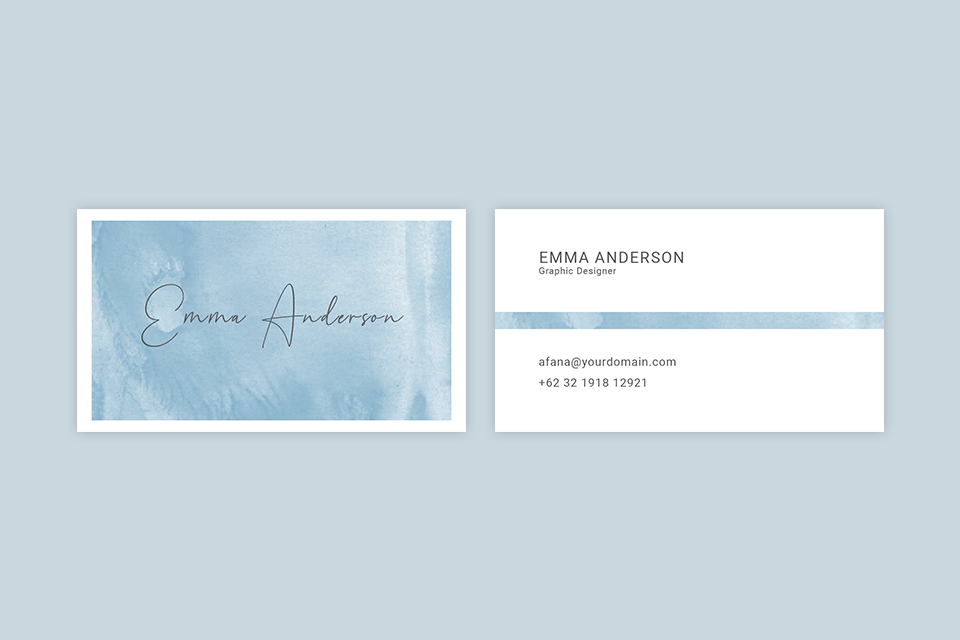 indesign templates free watercolor