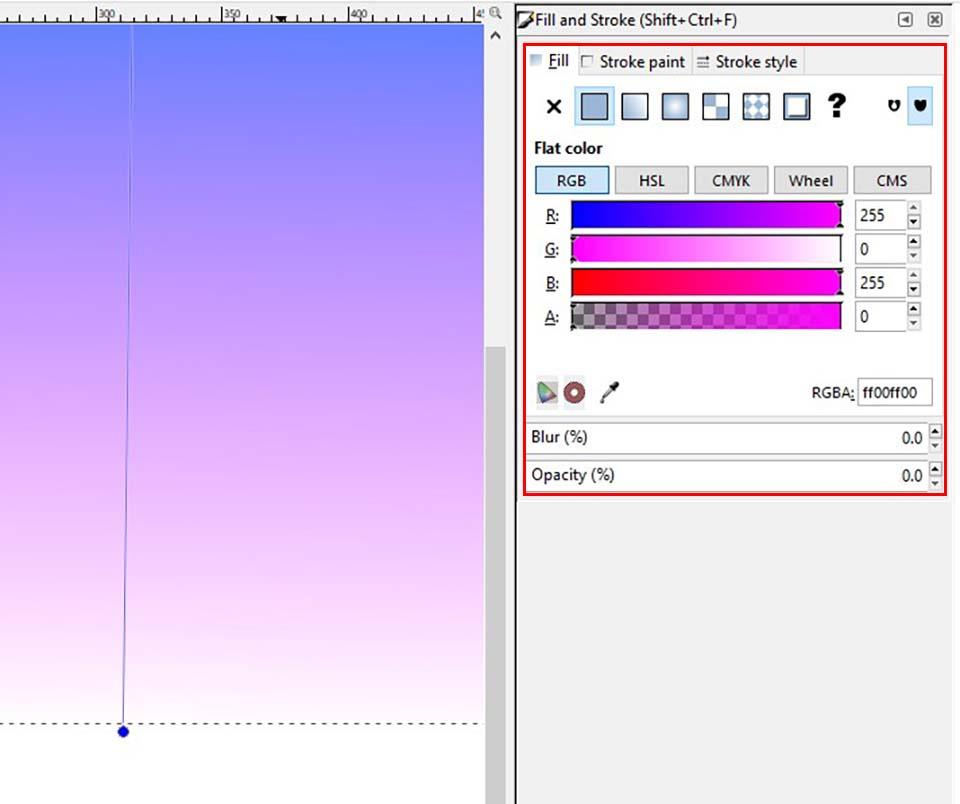 inkscape gradient