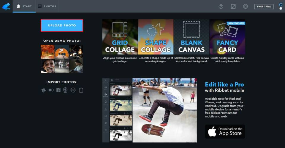 Ribbet Photo Editor Review – Is It a Good Photo Editor, Collage and