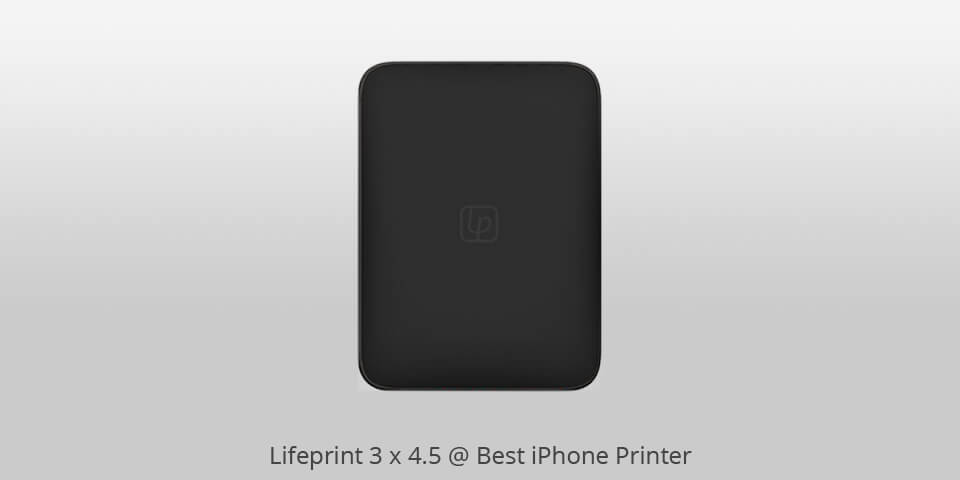 "Lifeprint 3/"" x 4.5/"" Portable Photo Printer for IOS /& Android"
