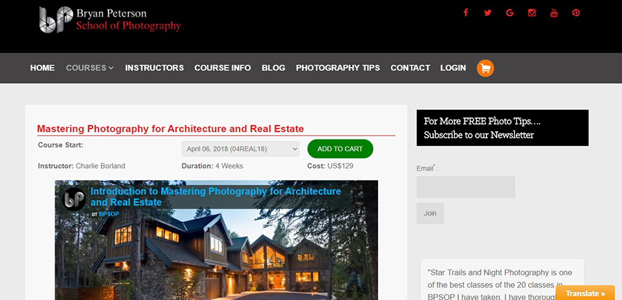 Real Estate Photography Classes For Beginning Photographers And Photo Retouchers