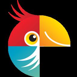 logotipo do editor de fotos movavi