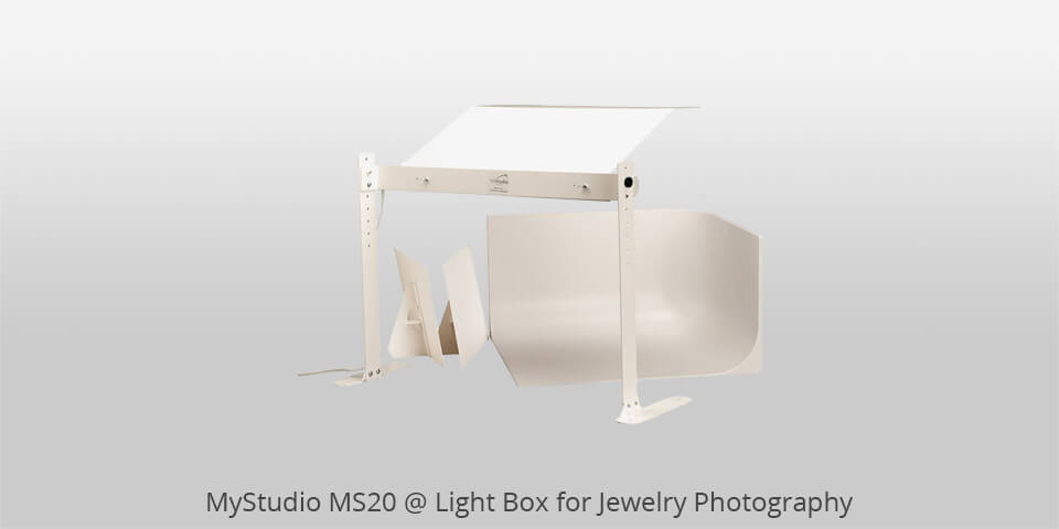 mystudio ms20 lightbox for jewelry photography