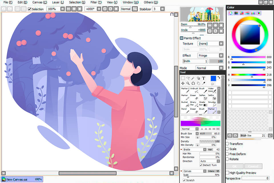 Paint Tool Sai Portable (Free Download)