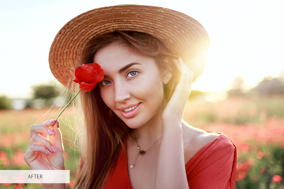professional portrait photography presets before after
