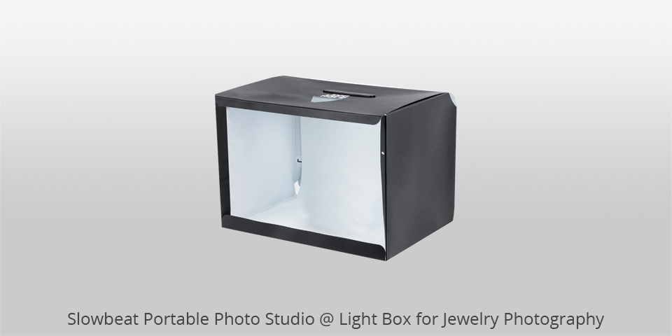 slowbeat portable photo studio for jewelry photography
