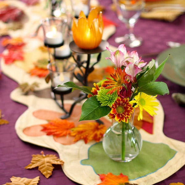 Thanksgiving Table - Photo by Kevin Dooley