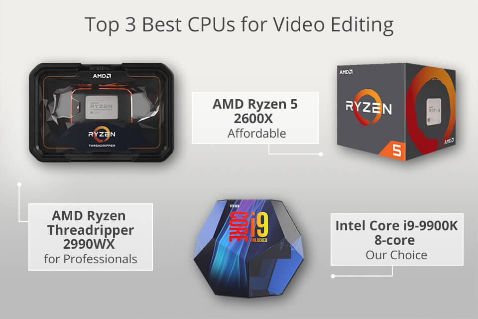 8 Best Cpu For Video Editing On A Budget