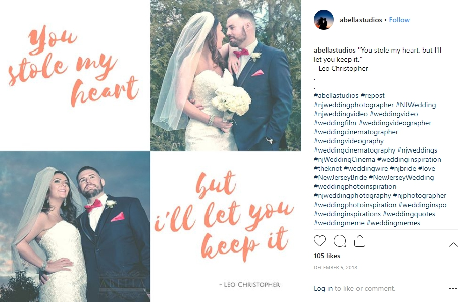 100 Best Wedding Captions For Photos Instagram Wedding Captions