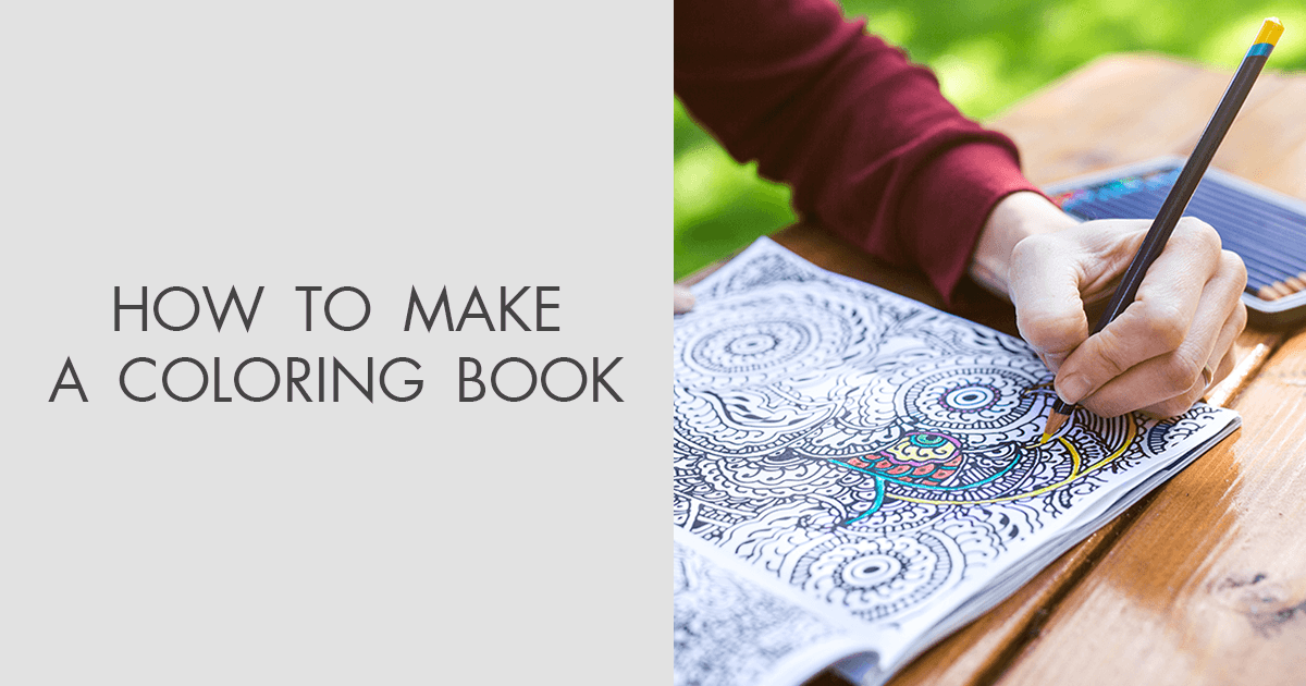 How To Make A Coloring Book