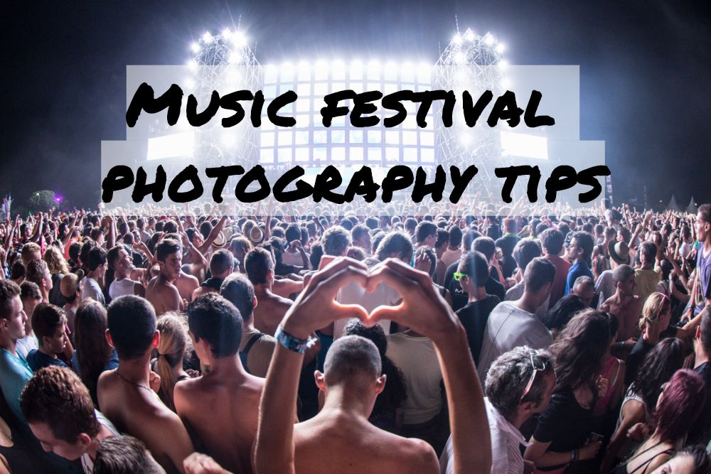Specifics and features of music festival photography tips