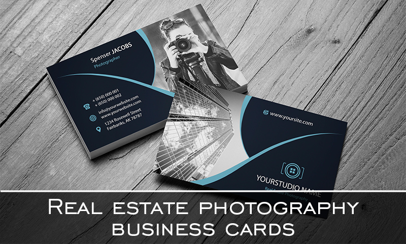 20 FREE Real Estate Photography Business Cards