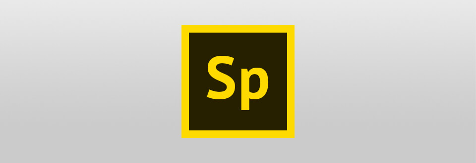 logotip adobe sp