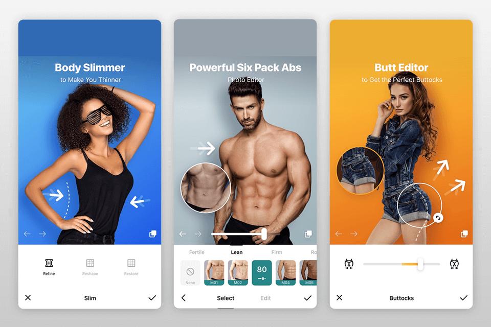 pic slimming app
