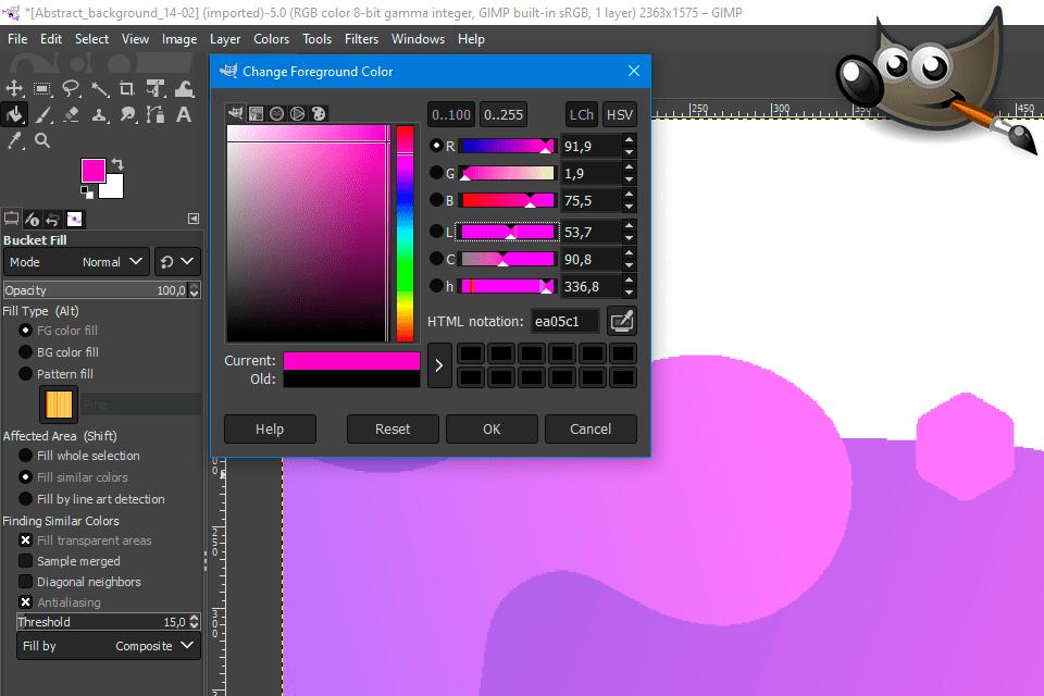 Pixelmator Gimp