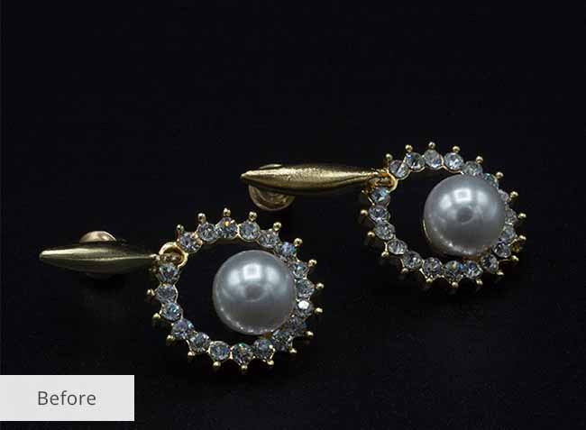 jewellery photo retouching services before